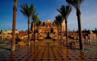 Emirates Palace wallpapers and stock photos