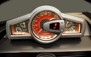 1962 Chevrolet Corvette C1 RS Gauges wallpapers and stock photos