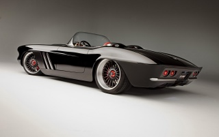 1962 Chevrolet Corvette C1 RS Rear wallpapers and stock photos