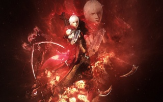 Devil May Cry Red wallpapers and stock photos
