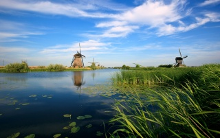 Windmill wallpapers and stock photos