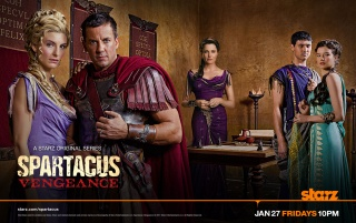 Spartacus Vengeance Cast wallpapers and stock photos