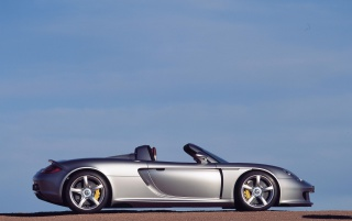 Carrera GT silver wallpapers and stock photos