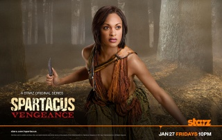 Spartacus: Vengeance - Naevia wallpapers and stock photos