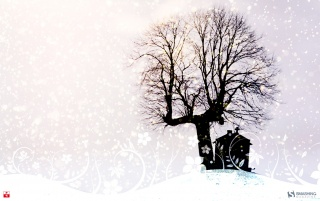 Winter Church wallpapers and stock photos