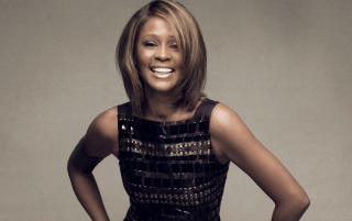 Whitney Houston Vestido Negro wallpapers and stock photos