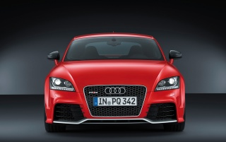 Audi TT RS plus Front wallpapers and stock photos