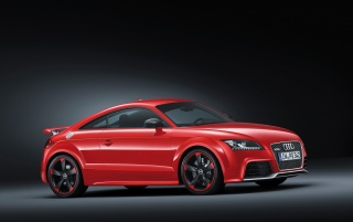 Audi TT RS plus Front and Side wallpapers and stock photos