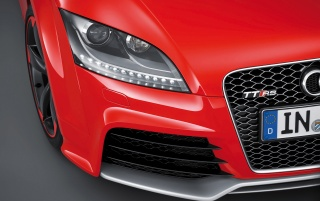 Audi TT RS plus Headlights wallpapers and stock photos