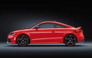 Audi TT RS plus Side wallpapers and stock photos