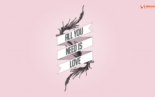 All You Need Is Love wallpapers and stock photos