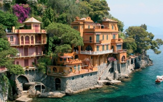 Portofino Genoa wallpapers and stock photos