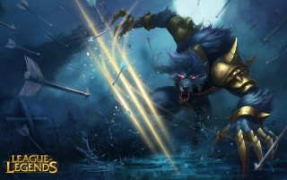 League of Legends Warwick wallpapers and stock photos