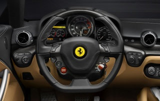 2012 Ferrari F12 Berlinetta Dashboard wallpapers and stock photos