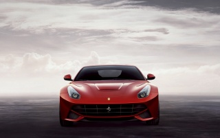 2012 Ferrari F12 Berlinetta Front wallpapers and stock photos
