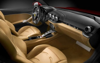 2012 Ferrari F12 Berlinetta Interior wallpapers and stock photos