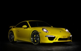 Random: 2012 TechArt Porsche 911 Front And Side