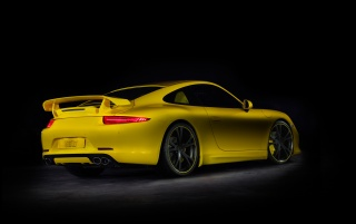 2012 TechArt Porsche 911 Rear And Side wallpapers and stock photos