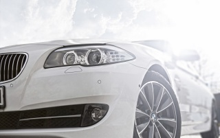 BMW Series 5 Headlights wallpapers and stock photos