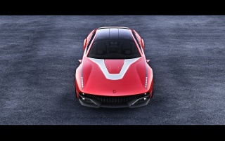 2012 Italdesign Giugiaro Brivido Concept Front wallpapers and stock photos