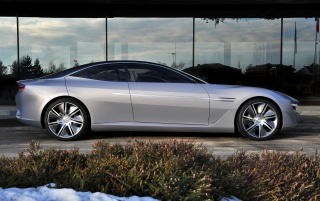 2012 Pininfarina Cambiano Concept Side wallpapers and stock photos