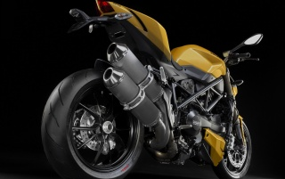 Previous: Yellow Ducati Streetfighter 848 Rear Angle