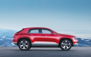2012 Volkswagen Cross Coupe Concept Side wallpapers and stock photos