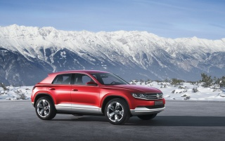 2012 Volkswagen Cross Coupe Concept Side Angle wallpapers and stock photos