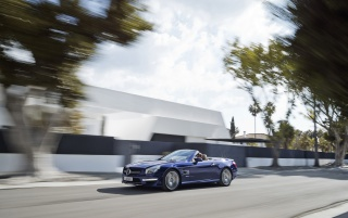2013 Mercedes Benz SL 65 AMG Speed wallpapers and stock photos