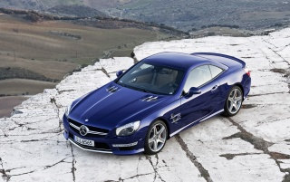 2013 Mercedes-Benz SL 65 AMG Static wallpapers and stock photos