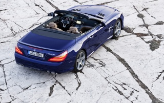 2013 Mercedes-Benz SL 65 AMG Static Rear wallpapers and stock photos
