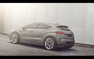 Random: 2012 Citroen DS4 Racing Concept Rear And Side Speed