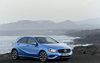 2012 Mercedes-Benz A Class Static wallpapers and stock photos