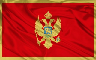 Bandera de Montenegro wallpapers and stock photos