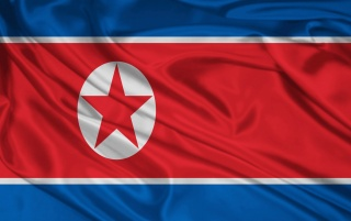 North Korea flag wallpapers and stock photos