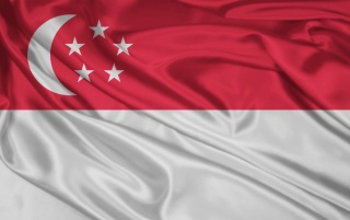 Bandera de Singapur wallpapers and stock photos