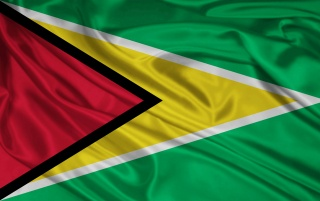 Guyana Bandera wallpapers and stock photos