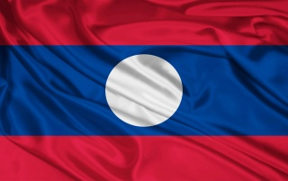 Laos-Flagge wallpapers and stock photos