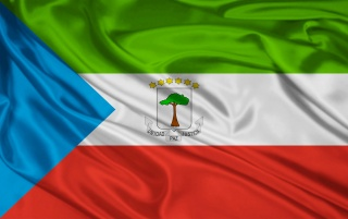 Bandera de Guinea Ecuatorial wallpapers and stock photos