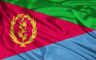 Eritrea-Flagge wallpapers and stock photos