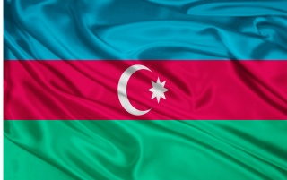 Azerbaijan Flag wallpapers and stock photos