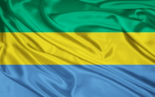 Gabon Flag wallpapers and stock photos