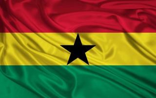 Ghana-Flagge wallpapers and stock photos