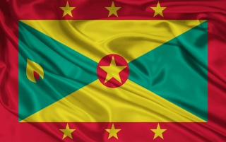 Grenada Flag wallpapers and stock photos