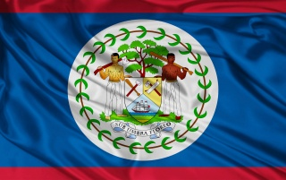 Belize Flag wallpapers and stock photos