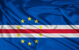Cabo Verde Bandera wallpapers and stock photos