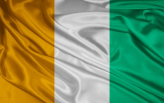 Cote d'Ivoire Flag wallpapers and stock photos