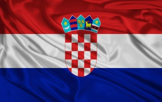 Kroatien-Flagge wallpapers and stock photos