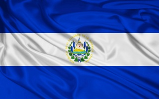 El Salvador Flag wallpapers and stock photos