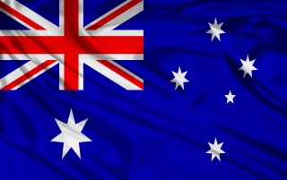 Australien-Flagge wallpapers and stock photos